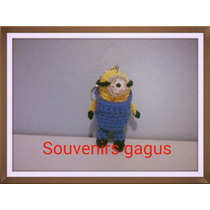 Souvenirs Llaveros Tejidos A Crochet De Minions