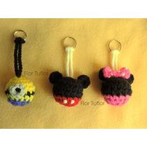 Llaveros Personajes Tejidos Crochet Ideal Souvenirs Infantil