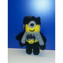 Souvenirs Llaveros Minions Batman Tejidos Crochet