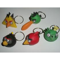 Souvenirs Angry Birds Llaveros- Los Preferidos De Los Niños