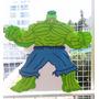 Piñata Infantil En Goma Eva, Increible Hulk Y Ninjago Rojo
