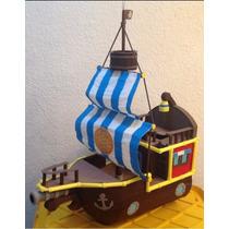 Piñatas Frijolito Barco De Jake Y Los Piratas