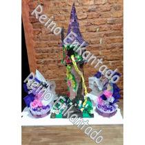Torre De Rapunzel + Dos Carameleros Dulceros