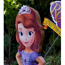 Piñata Princesa Sofia Con Logo Y Nombre