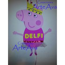 Piñata Peppa Pig Grande Con Golosinas