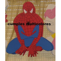 Piñatas En Goma Eva, Hombre Araña Mickey, Sapo Pepe.