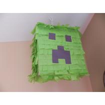 Piñatas Mexicanas Minecraft Crepper
