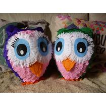 Piñatas Lechuzas De Pájaros En La Cabeza!!!!