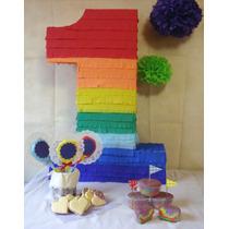 Piñatas Infantiles , Tipo Mexicanas , Numeros