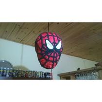 Piñata De La Cabeza Del Hombre Araña