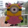 Piñata Infantil Minions, Cofres Souvenirs, Bolsitas