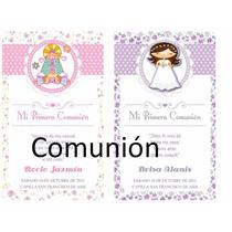 Tarjetas De Comunion Personalizados