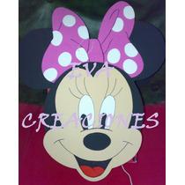 Piñata Figura Minnie - Mickey En Goma Eva!!