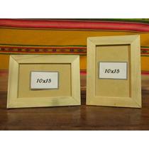 Portaretrato 6x9, (10x15), 13x18, 15x21, 20x25 Etc De Madera