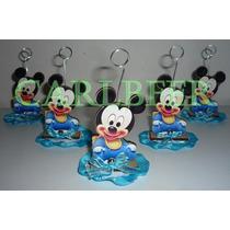 Portarretrato Souvenirs Mickey Tarjetero Mickey Fibro Facil