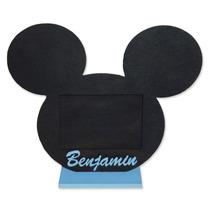 10 Souvenir Mickey Mouse - Portaretrato + Foto Personalizada