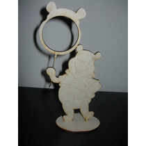 Portaretratos Winnie Pooh En Fibrofacil