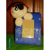Muñecos Country Portaretrato (5x7cm) Souvenir Pirata10x$500