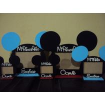 Souvenirs Portaretratos De Mickey Pintados Para Foto De 6x9