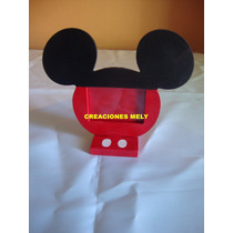 Souvenirs Portaretrato Mickey Mouse Y Minnie Mouse.
