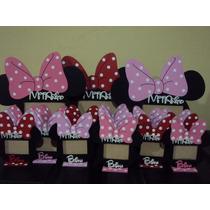 Souvenir Portaretrato De Minnie Pintado Para Foto De 7x5