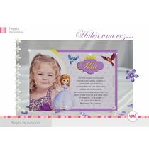 Tarjetas De Invitacion Princesa Sofia