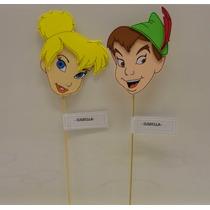 Campanita Y Peter Pan Souvenirs En Goma Eva