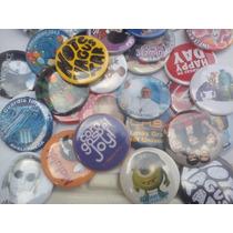 100 Pins 3,8cm Envio Gratis Botones Publicitarios Souvenirs