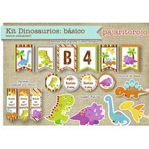 Kit Imprimible Dinosaurios