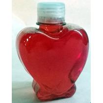 Envase Corazón Con Pie Souvenirs Sales Jabón Liquido Candy