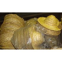 Sombreritos De Paja X40 De 20 Cm