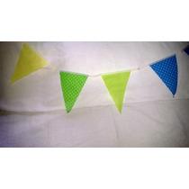 Banderines De Colores Para Cumples, Bautismo O Comunion