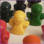 Crayones - Souvenirs - Muñequitos - Cumpleaños - Pack X 24