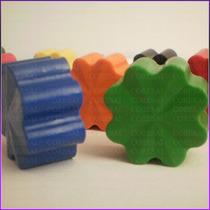 Crayones - Souvenirs - Flores- Cumpleaños - Pack X 48 Un