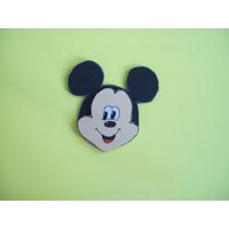 Mickey Y Sus Amigos Caritas En Goma Eva 10 Unidades