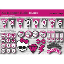 Kit Cumpleaños Monster High