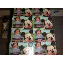 Rompecabezas Personalizados Souvenir Mickey Minnie Pluto X10