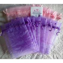 24 Bolsas Tul 10*14 Colores Souvenir Eventos Fiestascumples