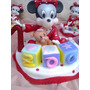 Mickey Y Minnie Bebe En Porcelana Fria