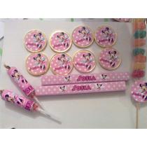 Stickers Souvenirs Personalizados Minnie Violetta Frozen