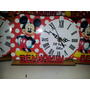 Reloj Souvenirs Personalizado Con Nombre Corporeo.