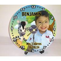 Reloj Souvenir Personalizado Con Pilas Y Atril Gratis!