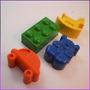 Crayones - Juguetes - Ositos, Caballitos, Legos , Autos X 24