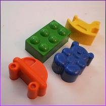 Crayones - Juguetes - Ositos, Caballitos, Legos , Autos X 48