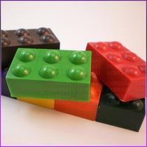 Crayones - Souvenirs - Bloques De Lego X 24un