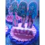 Monster High Centros De Mesa X4