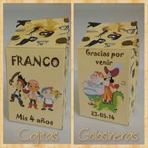 Souvenirs 10 Cajitas Golosineras