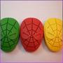 Crayones - Souvenirs - Spiderman - Hombre Araña - Pack X 24