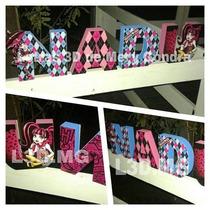 Letras 3d - Cumpleaños - Candy Bar - Mesas Temáticas
