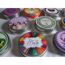 Latas Pastillero Personalizadas, Ideal Souvenirs X 30 Unid